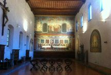 SANT'APOLLONIA LAST SUPPER / It is one of the hidden gems of Florence. A few steps away from Piazza San Marco, it hides a wonderful Last Supper fresco painting by Andrea del Castagno.
