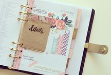 Planner Love / Ideas and inspiration for day planners.