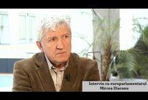 Interviu cu eurodeputatul Mircea Diaconu. Autor: Bogdan Rădulescu, Bruxelles.