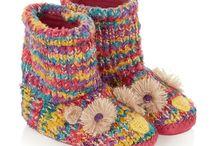 Knitting / Slippers