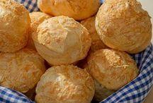 Pão. queijo