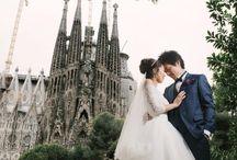 スペイン ウエディング|Sparin Wedding Photos / スペインで実際に行われた前撮り、後撮り、フォトツアーなどのロケーションフォト撮影や素敵な撮影スポットを特集しています。