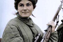 снайперы Советского Союза