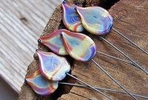 Lampwork Headpins / by Julie Bowen