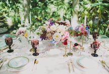 {Weddings} Tablescapes