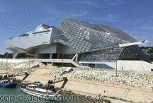 Musée des Confluences auf dem Heimweg von Cap d'Agde Naturiste