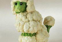 Food Art / Edible food art, sculpture, and humor