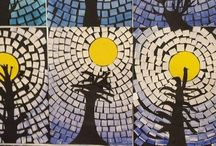 Paper mosaic crafts