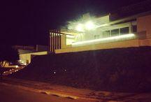 Casa com iluminação