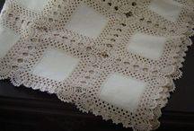 kare kumaş ile mas örtüsü