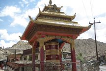 Ladakh / The jewel in the crown, the land of spectacular colors and lunar landscapes. The novel, SUTRA SYMBIOTIX, is based on the adventures of a monk from this mystic land of India...