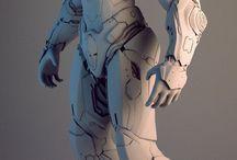 Robot futuristik