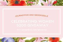 Giveaway - Weekly / by GroopDealz