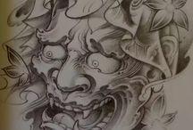 tatoo  hannya