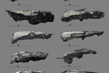 SpaceShips RawConcept