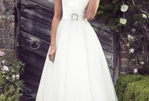 Brighton Belle / The Brighton Belle collection by True Bride brings you these stunning gowns dedicated to T-length dresses with a retro edge. All designed in-house at our Brighton Studio.
