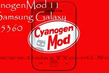 Galaxy Y(S5360) - CyanogenMod 11 / by Ultimate Resource for your Samsung Galaxy device | ROMs, MODs, TWEAKs www.GalaxYYounG.Net
