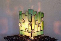 Glas Lampen