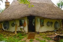 Real Life Hobbit House, Gnome home or fairy house / Life size real homes that look like fairy garden houses!