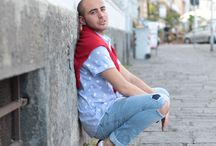 Dario Fattore - Fashion Blogger / for Leopoldo Colibrì red