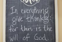 Give Thanks / by Erin Kirchner