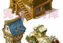budynki fantasy