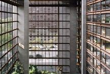 Atrium of the Ford Foundation