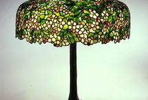 """Tiffany Glass: Painting with Color and Light, September 5, 2015-January 3, 2016 / As a painter, Louis C. Tiffany was captivated by the interplay of light and color, and this fascination found its most spectacular expression in his glass """"paintings.""""  Organized by The Neustadt Collection of Tiffany Glass in New York City, Tiffany Glass: Painting with Color and Light is comprised o f5 windows, 19 lamps and 75 pieces of opalescent flat glass that illustrate the rich expanse of color and light available to the artists at the Tiffany Studios."""
