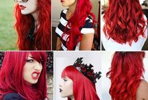 Going red / by Abbey Salome