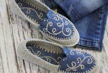 παπούτσια πλεκτά