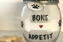 Dog Treats Jars