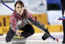 Curling women's team Russia