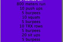 Wod Crossfit / Workout of Day, Daily crossfit sets, Schedule for everyday, Fitness tips, Healthy food, Healthy life