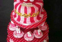 Mini Cake and Cupcakes Birthday