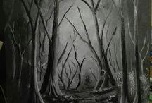 Festészet / Általam festett olaj, acryl képek