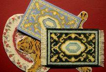 Tapis, rideaux, broderie miniatures / Tutoriels de miniatures
