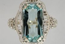 Vintage Aqua Jewelry