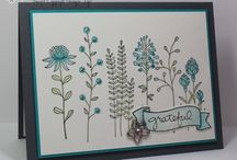 Flowering Fields Card Ideas / by Laurie Graham: Avon Rep