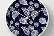 WALL Clock  from Kanvisstyle design / Wall Clock from #kanvisstyle design. Available on Society6 #kanvisstyle , #clock, #society6