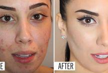 zamalowanie plam na twarzy