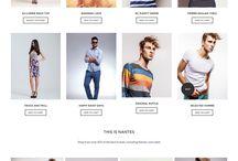 Webdesign - Mode & fashion
