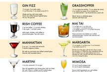drinks / my favourite drinks recipes cocktails and all that shit