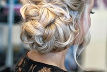 Wedding hairstyles / Some ideas and inspiration for our blushing brides on their special day.