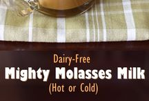 Drinks (nourishing & just plain yummy) / Warming & nutritious drinks made with a touch of molasses