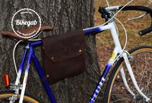 Bikegab - Bicycle Leather Frame Bag / Bikegab is portable hand made leather frame bag for your bicycle. We are using high quality oil tan leather, and 100% cotton to provide you with 2 in 1 fashionable bicycle and crossbody bag that is durable at the same time. Bikegab holds all the necessary essentials for your everyday life and ride.