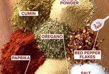 Herbs, spices and other condiments