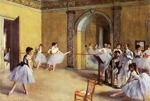 degas: cours de danse à l'opera