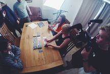 Filming / Filming shots for the Kickstarter video.
