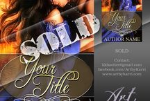 Pre-made Book Covers / Pre-made Book Covers currently available for purchase.  http://artbykarri.com/pre-made-covers/#