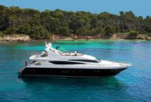 Luxury Boats and Speed Boats in Cannes / Looking for something different on holiday in Cannes, hire a luxury boat, by the day, week or whatever suits you! Check out our selection at www.rent-in-cannes.com